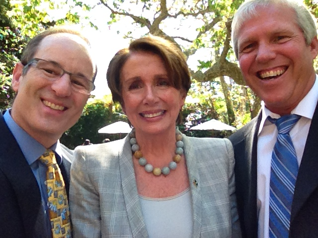 Dr. Mark Zakowski with Speaker Pelosi