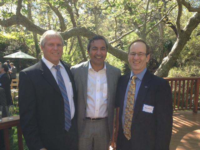 Dr. Mark Zakowski with Congressman Bera & Congressman Ruiz