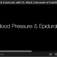 Blood Pressure & Epidurals